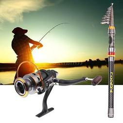 Freshwater Telescopic Fishing Rod Reel Combos DK3000 Fishing