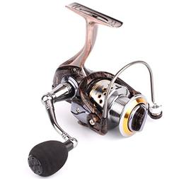 Geila Gapless Metal Body Spinning Fishing Reel with 13+1BB B