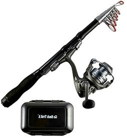 gobacktrail fishing rod reel combo
