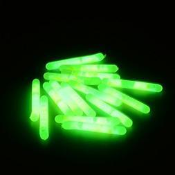 Green Fishing Light Lighted Fishing Bobbers - 15Pcs 4.5x36mm