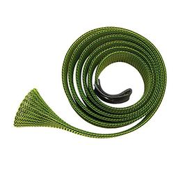 Green 170cm Skin Fishing Rod Sock Cover Pole Braided Cable S