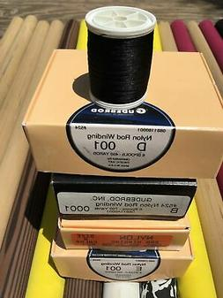 Gudebrod  Fishing Rod Winding thread  Size A, B, D,  Colo