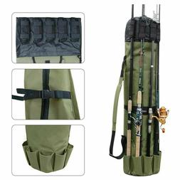 LTD FBA_4659 Heavy Duty Fishing Rod Travel Carry Case Bag