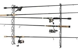Organized Fishing Wire Horizonal Ceiling Rack for Fishing Ro
