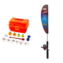Bundle Includes Zebco Fishing Dock Demon Spinning Combo and
