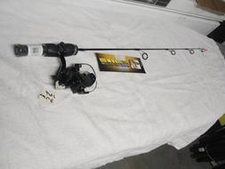 "Intrigue XL 27"" Medium Light Ice Fishing Rod & Reel Combo"