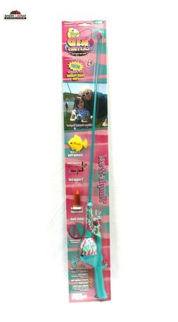 Jimmy Houston Kid Casters Girls No-Tangle Rod