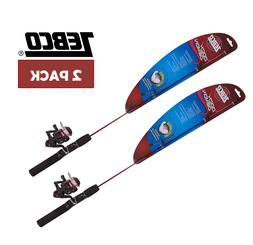 Kids Fishing Rod and Reel Zebco Dock Demon Spinning Combo 2