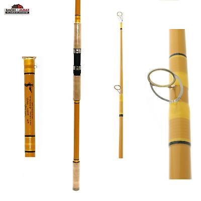 13 cg13hs2 crafted glass heavy spinning rod
