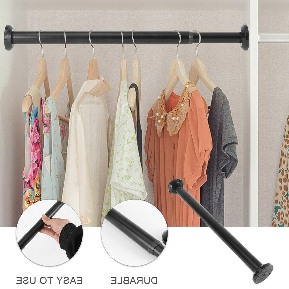 1pc Curtain Rod Drying Rack for Balcony Home