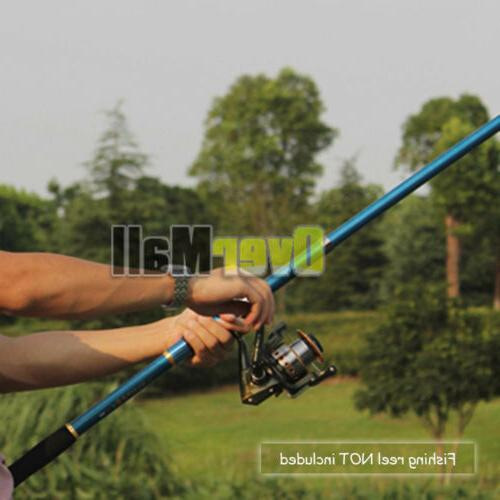 2.1M Fishing Rod Carbon Fiber Portable Sea Spinning Pole