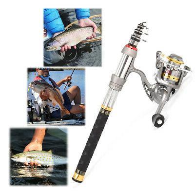Lixada 2.4m Fishing Rod Full Kit