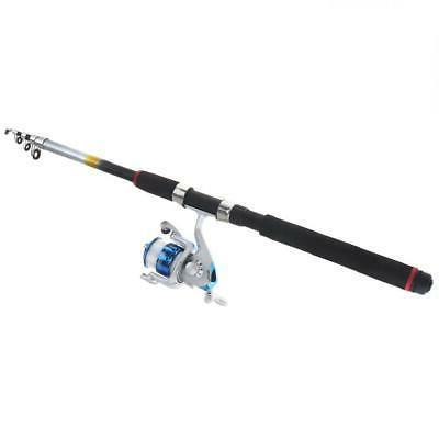 2.7m Fishing Reel Line Spinning Pole Set Lures