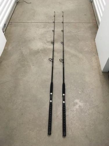 2 fusion 7 spinning rods mh action