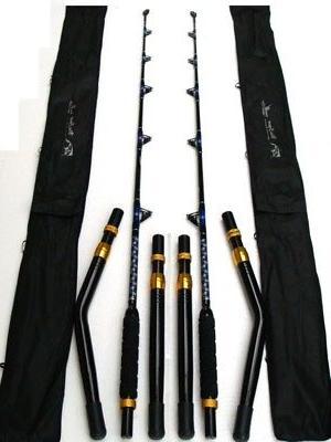 2 new big game fishing rod 50