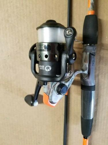 ZEBCO 33 6 two spinning rod