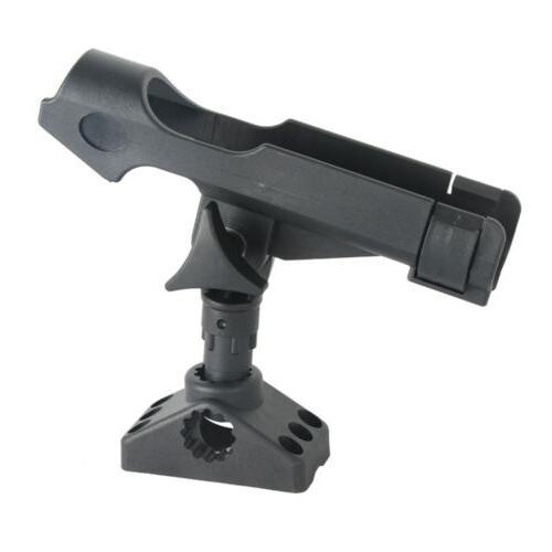 360° Adjustable Fishing Rod Pole Mount Stand Bracket Holder