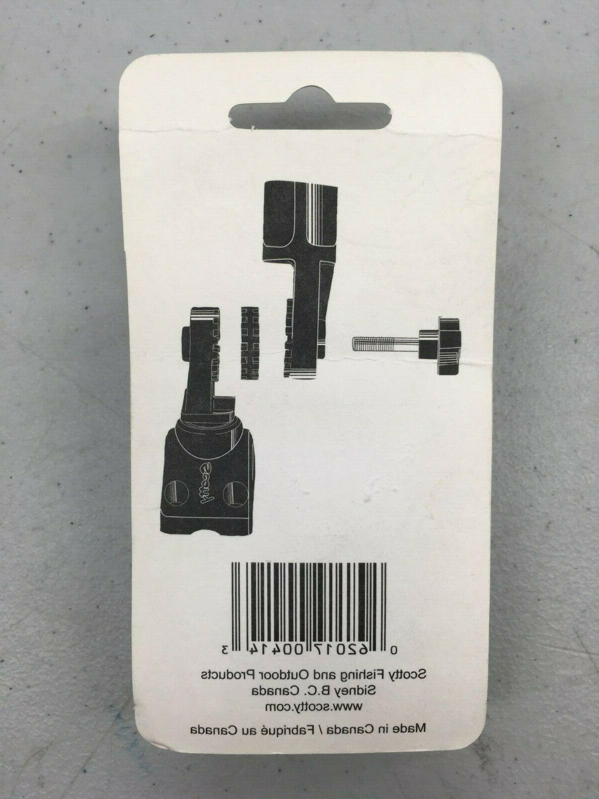 SCOTTY OFFSET GEAR DISC Rod Accessory