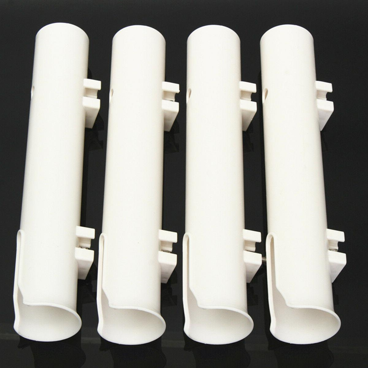 "4Pcs/ 12"" Holders Boat Marine Tube Rod"