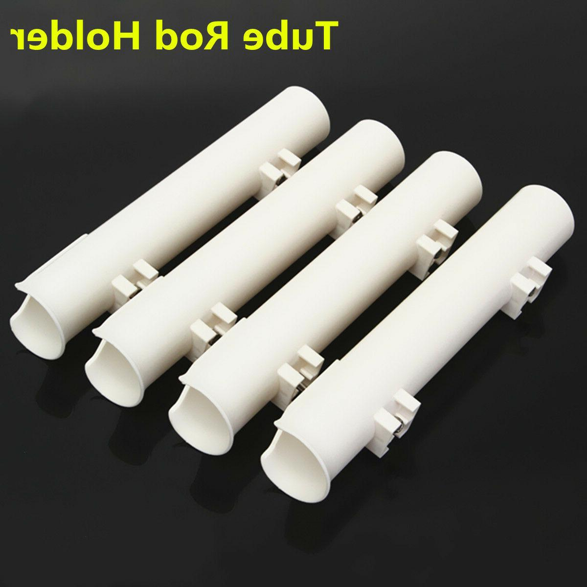 "4Pcs/ Set White 12"" Boat Holders Tube"