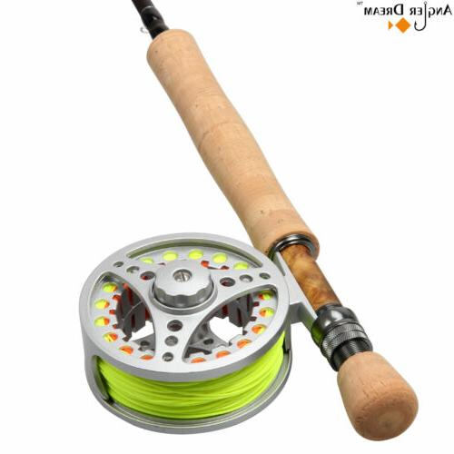 8wt fly fishing combo 9ft fly rod