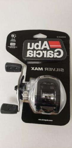 Abu Garcia SMAX3-C Silver Max Baitcast Fishing Reel- New In