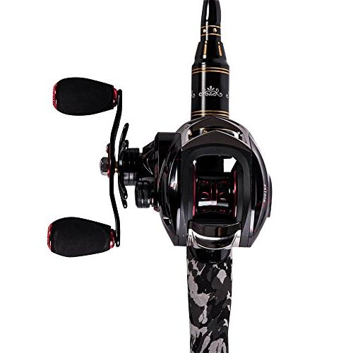 Entsport 14+1 Ball Smooth Magnetic Brake System Fishing
