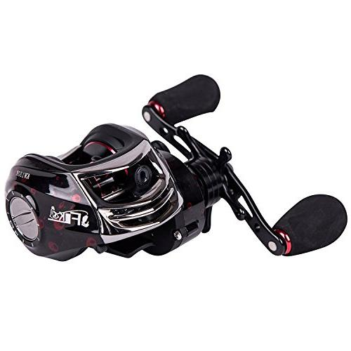 Entsport New Baitcasting Reel 14+1 Ball Bearings Low