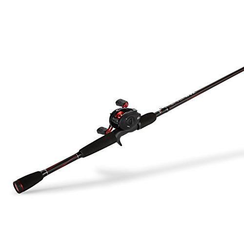 Abu Max Fishing Baitcast Reel Combo, 7 Feet, Medium Power
