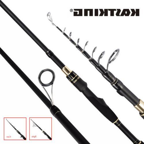 blackhawk ii casting and spinning fishing rod