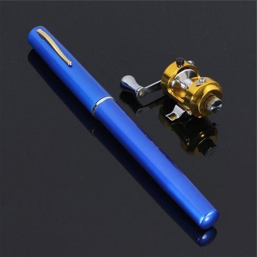 blue mini portable pocket aluminum