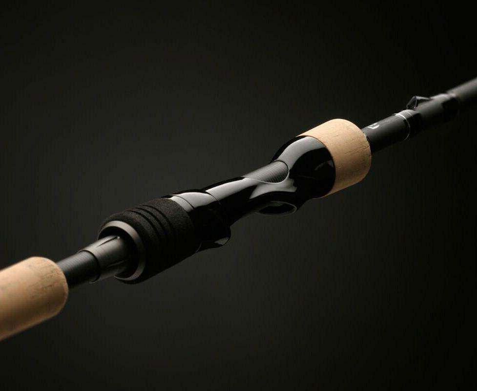 brand new muse gold mgs69m spinning rod