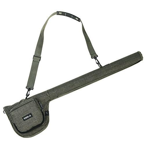 canvas fishing rod bag portable