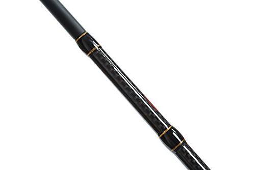 Entsport 1-Piece Fishing Fast Casting Rod Baitcaster Freshwater Bait Fishing Rod (6'6''- 1pcs