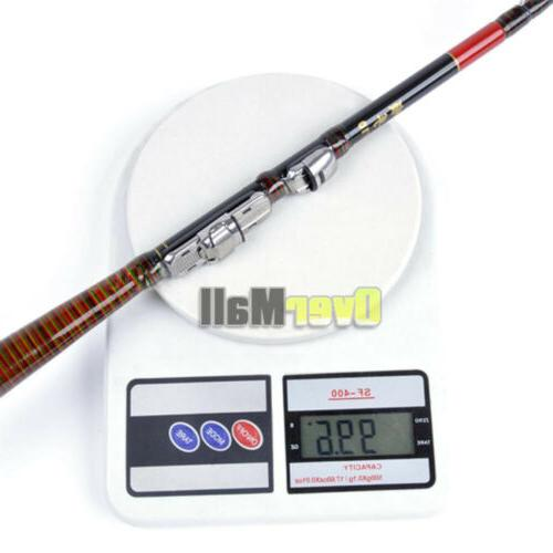 Carbon Telescopic Rod Travel Spinning Pole