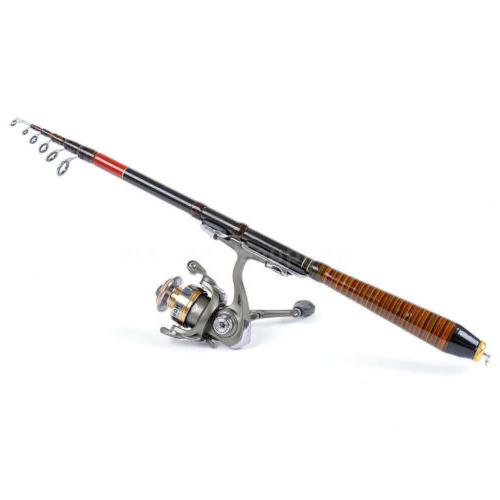 Professional Carbon Telescope Fishing Spinning
