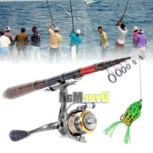 Carbon Rod Spinning Pole Lures