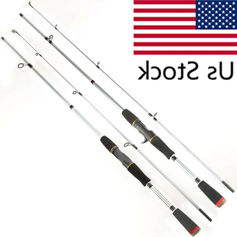 carbon fishing rod spinning casting lure rod