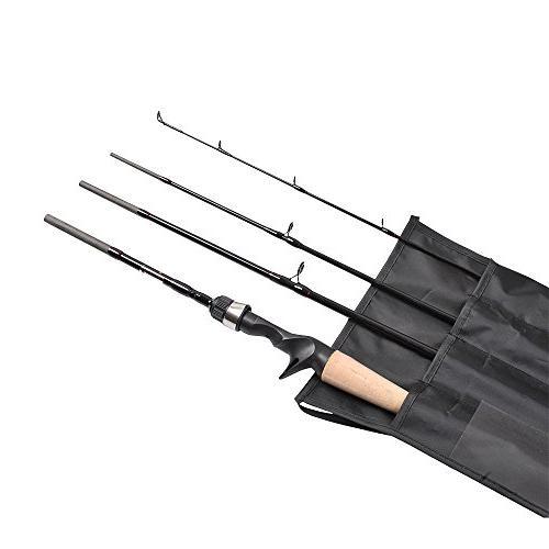 Casting Fishing Portable Rod Baitcaster