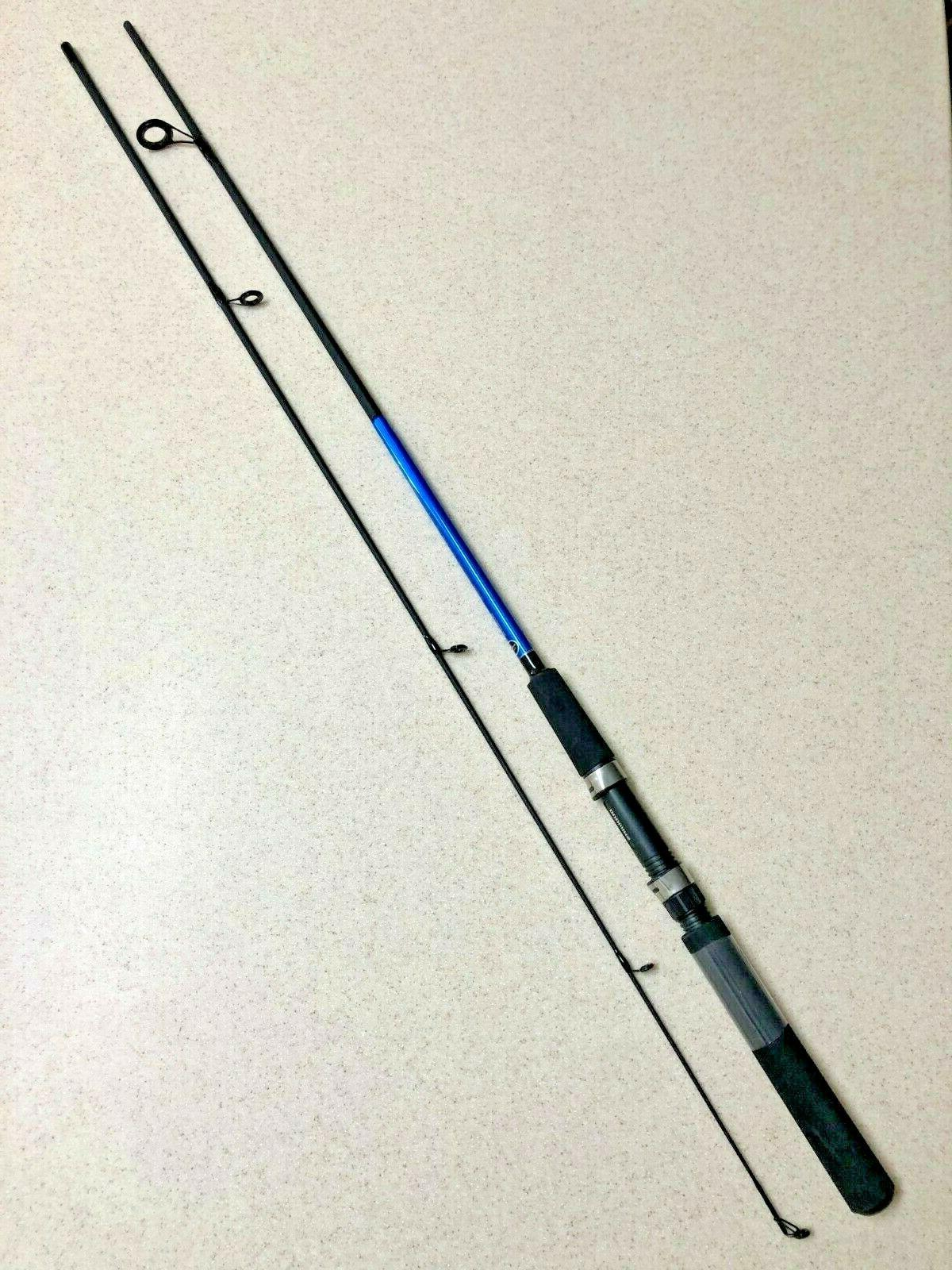 cbs60m2 medium fast 6 spinning rod 2pc