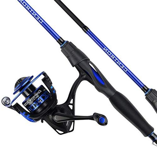 centron spinning reel fishing rod