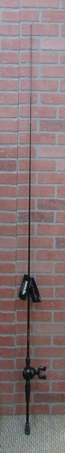 Okuma Ceymar Baitcast Combo; 7' Length; 1 Piece Rod; Medium