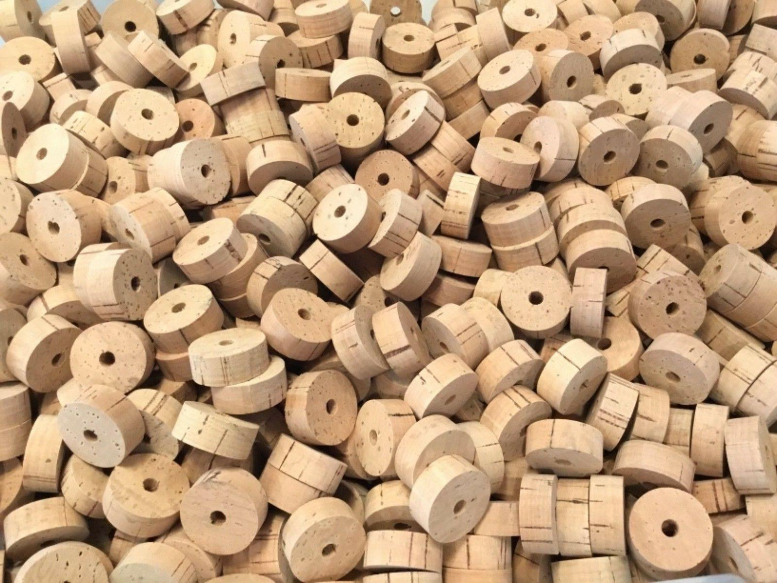 """Cork Rings, Natural, 1/2"""" x"""