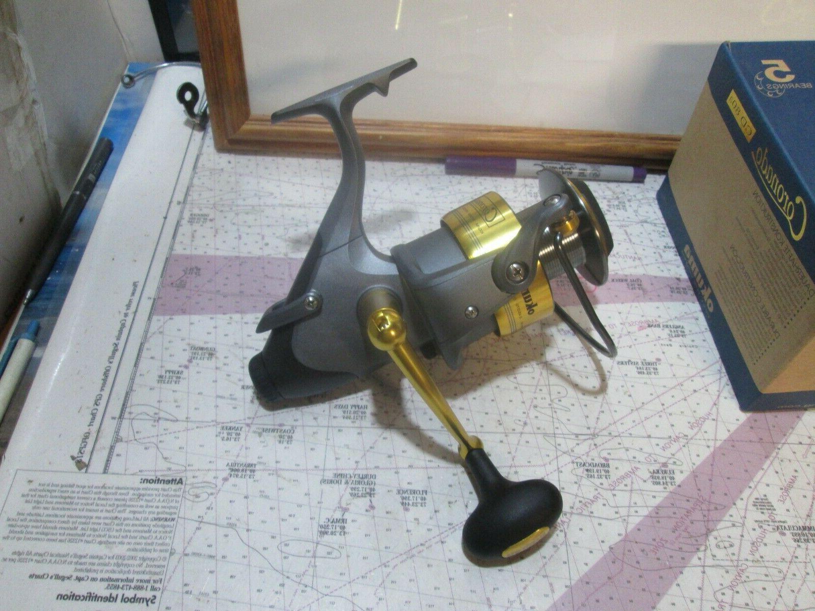 Okuma Coronado CD80 5BB baitfeeder saltwater spin fishing