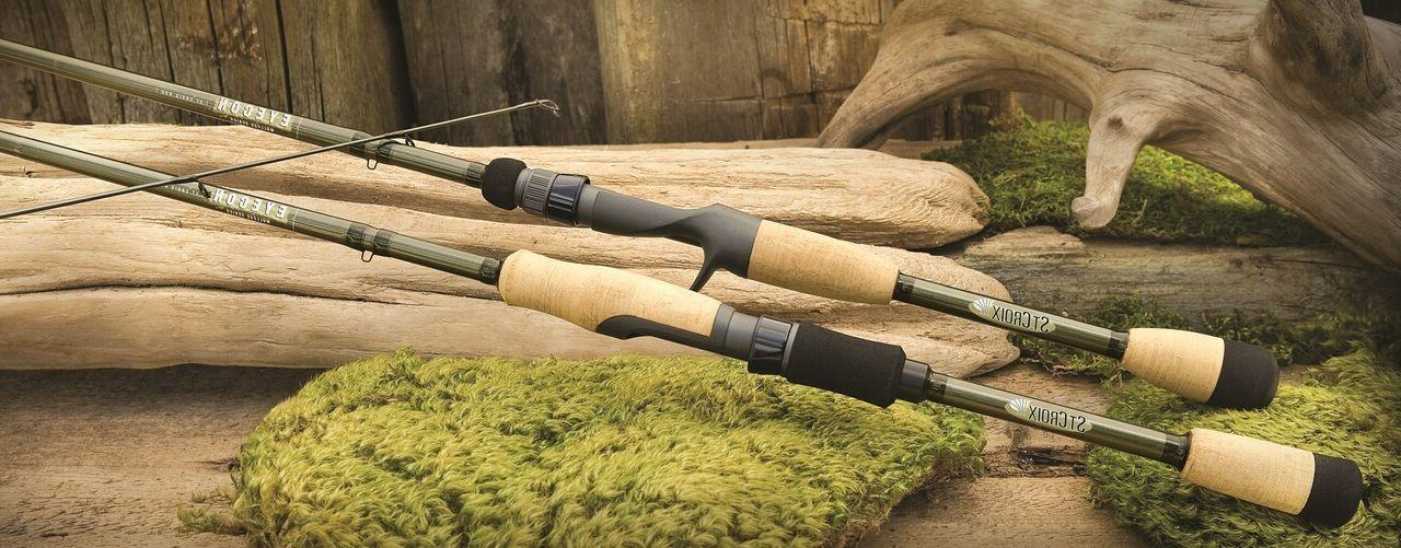 "St. Croix Eyecon Spinning Rod 6'6"", Med/Fast, 2pc"