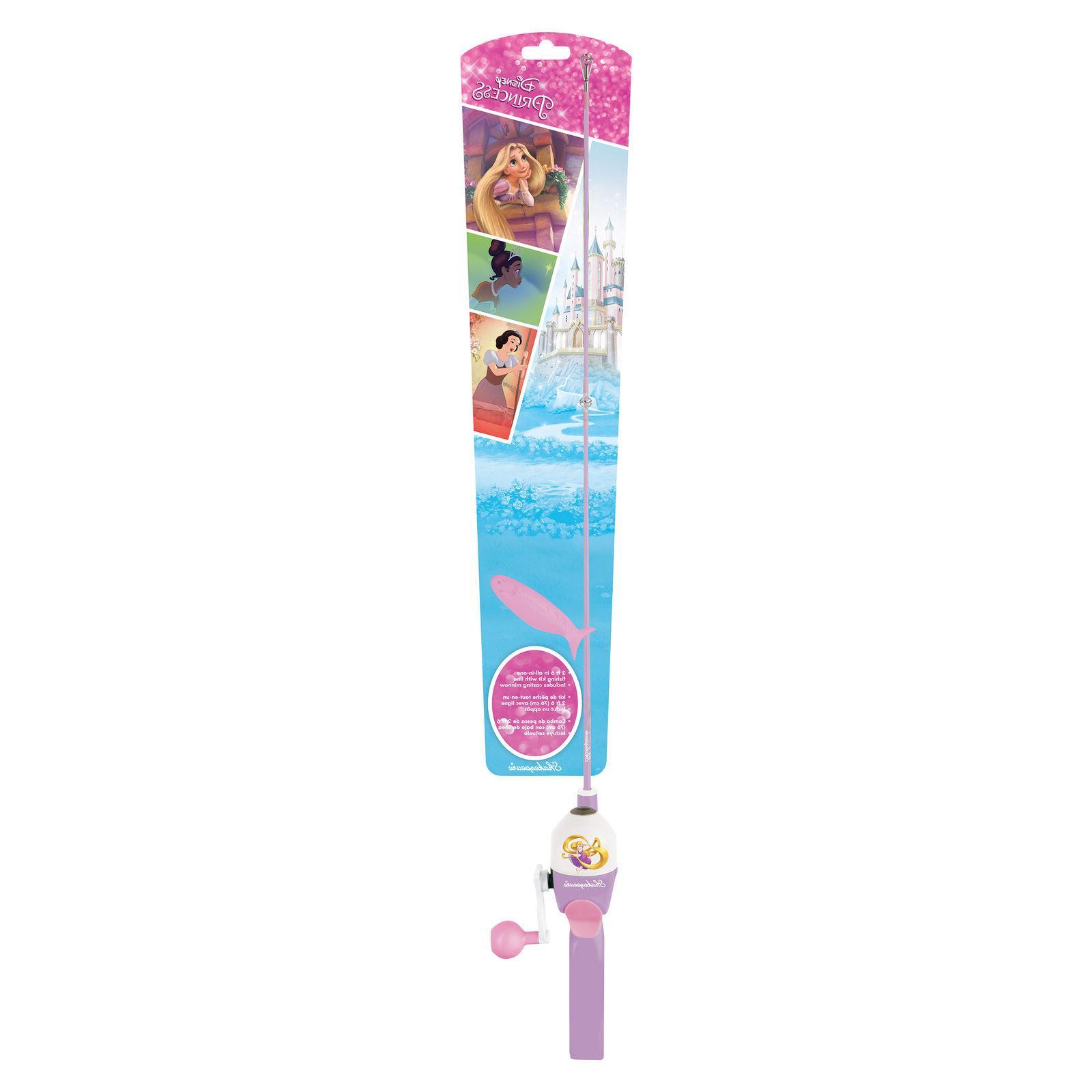 disney princess fishing pole rod