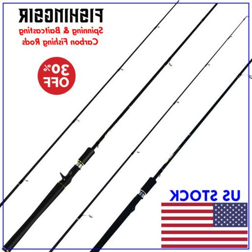 dreamcaster bass fishing rods spinning and casting