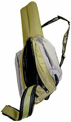 BW Sports 7 ft. Dual Spinning Rod and Reel Case, Offers Comp