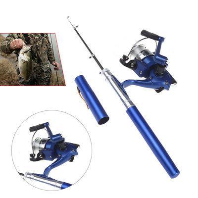 durable pocket pen fishing combos rod pole