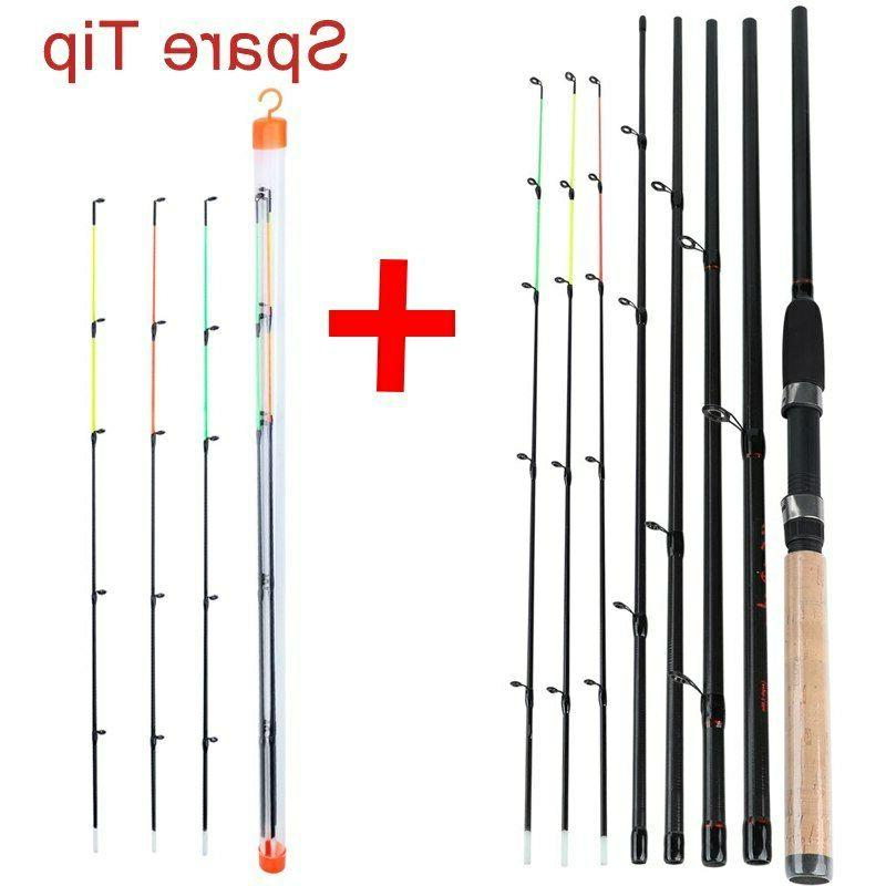 Durable Fishing Carbon Fiber Sea Rod Pole Tackle US